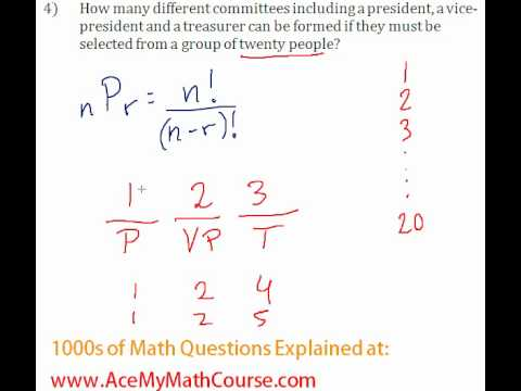 Combinatorics - Permutation Question #4