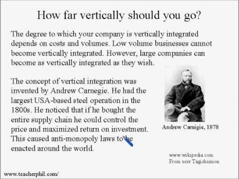 Business and Finance Lesson 14: Vertical Integration (Learn English)