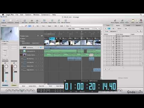Logic Pro: Scoring music to video | lynda.com