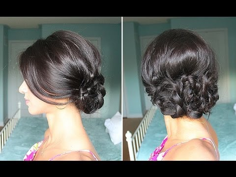 Elegant Braided Up-Do