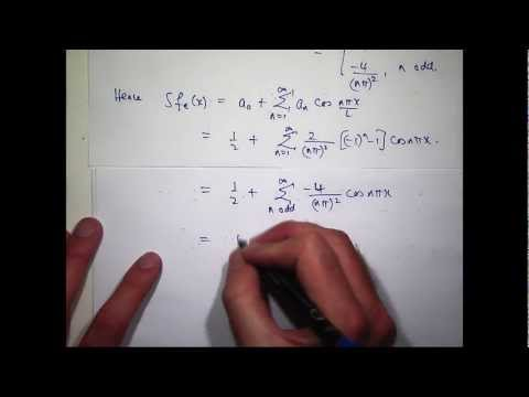 Fourier series: Odd & even functions