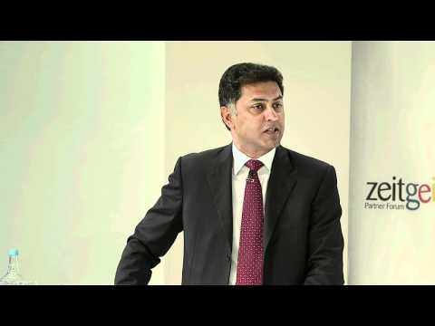 Welcome - Nikesh Arora at European Zeitgeist 2011