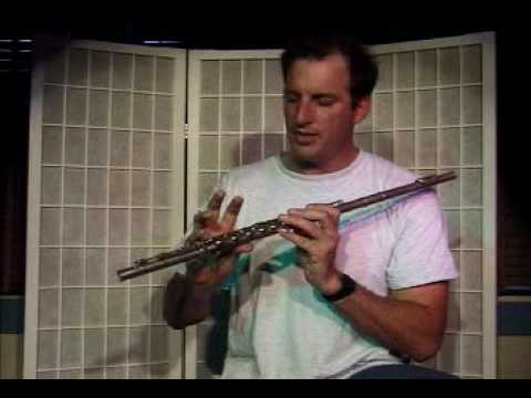"Flute Lesson - How to play the ""F"" note with fingering"