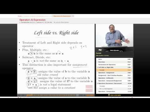 C++: Operators & Expression