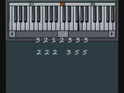 How to play Mary Had a Little Lamb on Piano - Music By Numbers
