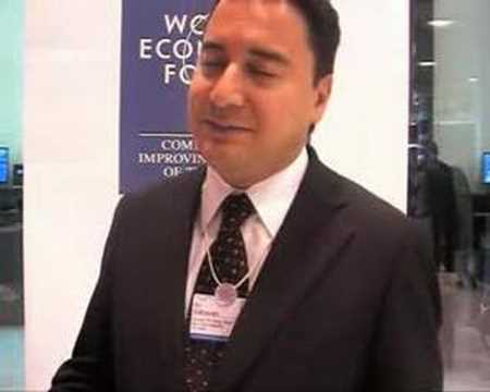 Middle East World Economic Forum 2008 - Ali Babacan