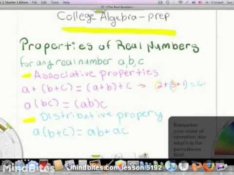 College Algebra Prep 4-2