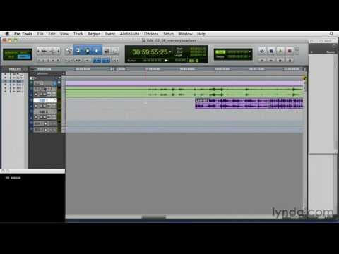 Pro Tools tutorial: How to use memory locations | lynda.com