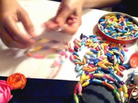 How to make Paper Beads Bangles