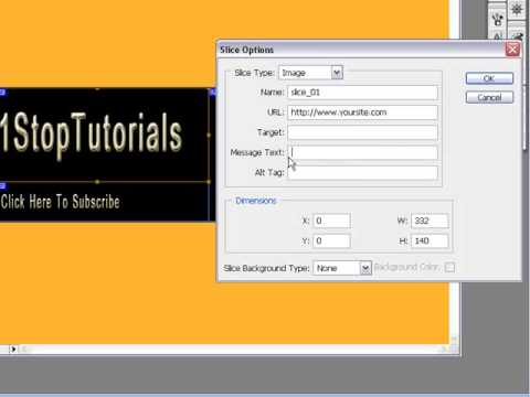 Learn How To Use The Slice Tool In Photoshop CS3