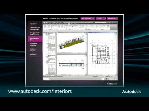 Model Interiors:  BIM for Interior Architects