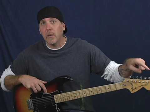 Learn electric blues lead guitar soloing tutorial lesson part 2