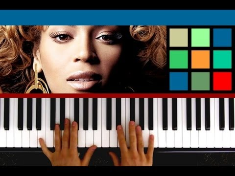 "How To Play ""Halo"" Piano Tutorial / Sheet Music (Beyonce Knowles)"