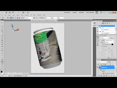Creating a 3D texture in Adobe Photoshop CS5