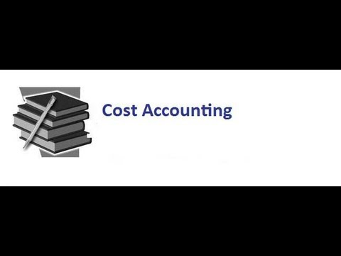 Understanding Cost Accounting One