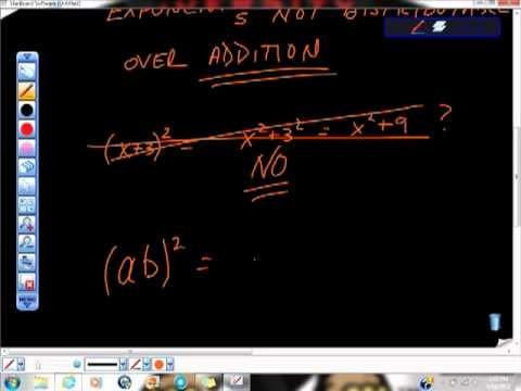 Understanding the Rules of Exponents Mistakes with Exponents