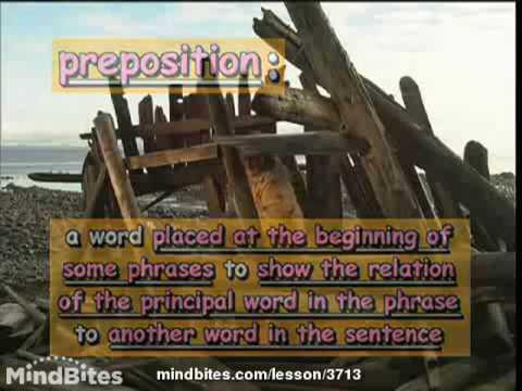Advanced Grammar: Simple Prepositions