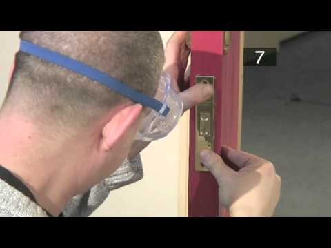 How To Fit A Mortise Lock
