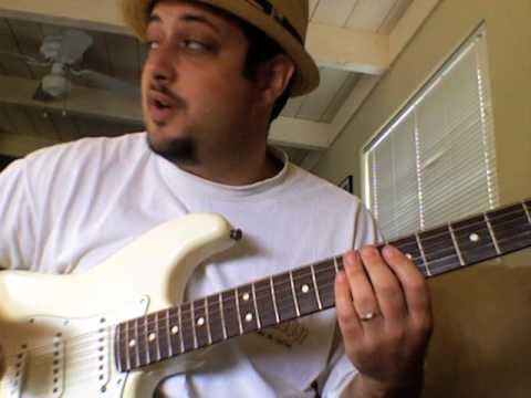 Learn how to play blues lead guitar create licks practice - Mixolydian and Blues Study Part 2