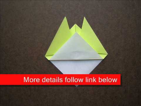 How to Fold Origami Female Cicada - OrigamiInstruction.com