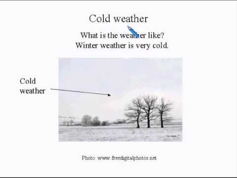 Learn English Lesson Super Easy #6 Winter!