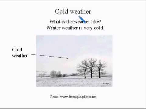 Learn English Lesson Super Easy #6 Winter!