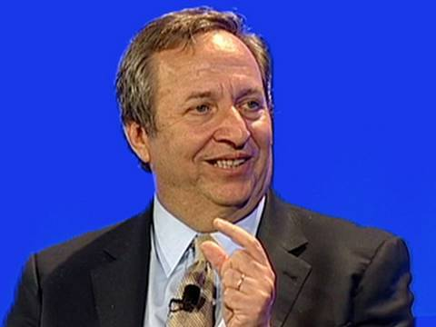Larry Summers: No Upside to Prolonged Recession