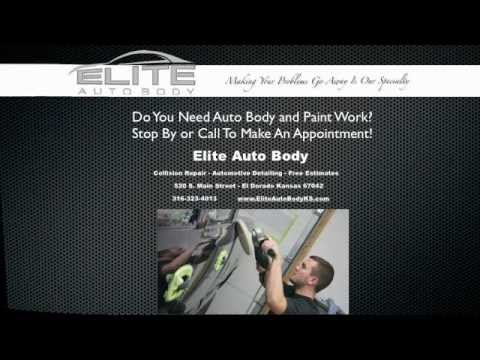 Elite Auto Body - El Dorado, KS - 316-323-4013