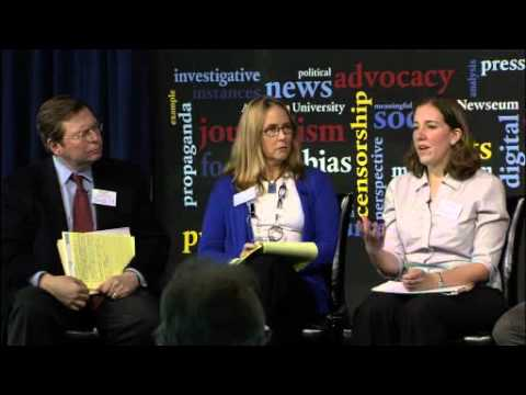 Advocacy Journalism in the Digital Age Conference: Panel 3
