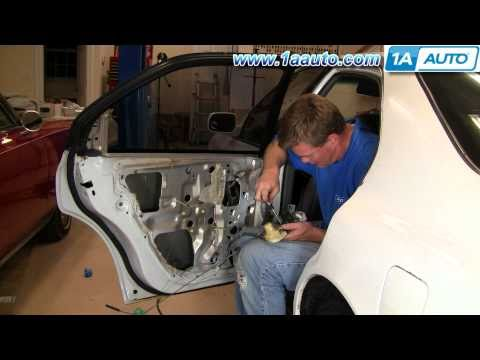 How To Install Replace Rear Power Door Lock Actuator Honda Accord 94-97 1AAuto.com