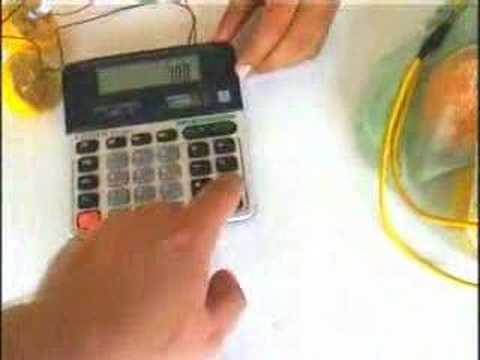 Lemon Powered Calculator