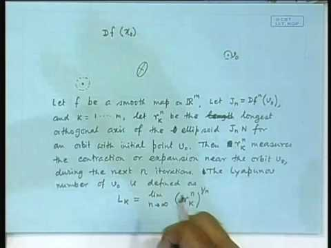 Lecture - 24 Lyapunov Exponent