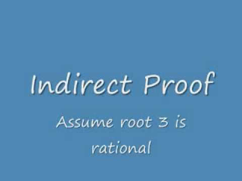 Proof: Square Root of 3 is Irrational