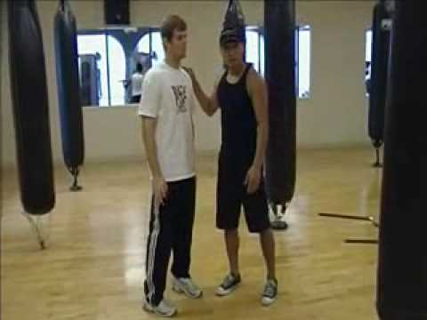 Wing Chun - Wooden Dummy Form - First Section (basics) part 2