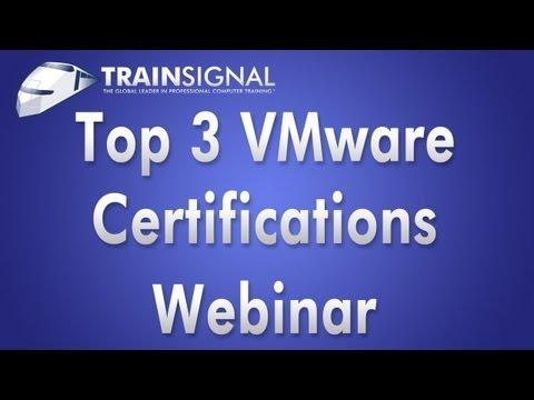 VMware Certification Webinar - David Davis Top 3 VMware Certs