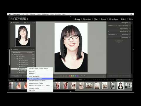 Updating Lightroom catalogs with the Synchronize command | lynda.com tutorial