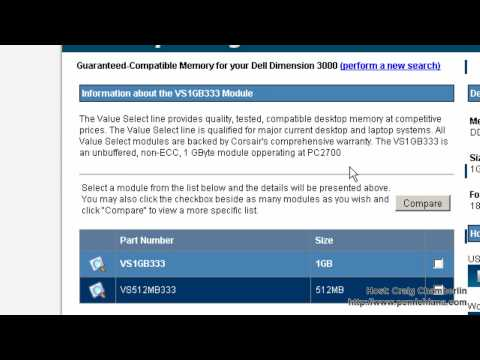 Free Software! [HD]: RAM: Memory Finder Locates Memory Slots, Speed, Max and Type, by Corsair