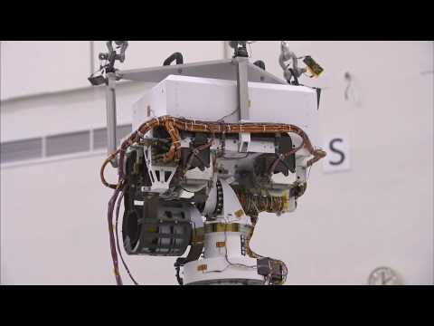 Mars Curiosity Rover Grows Taller