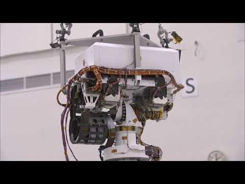 Mars Curiosity Rover Grows Taller