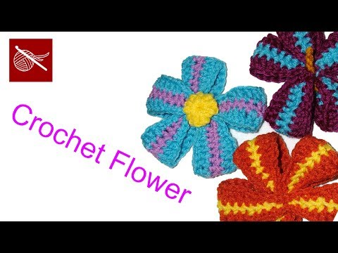 Crochet Geek - Crochet Ribbon Flower