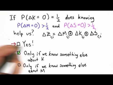 Importance Of Keys Solution - CS387 Unit 1 - Udacity