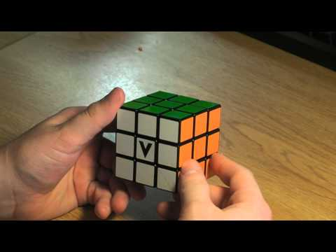 V-Cube 3x3 Review and Solves: Cubic Black DIY 3x3