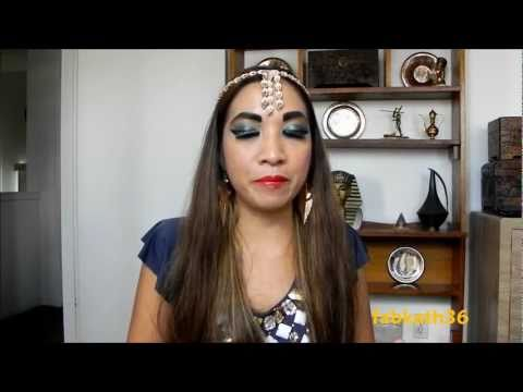 1st Collab Video: Egyptian /Cleopatra Makeup & Nail Art with YummyNails