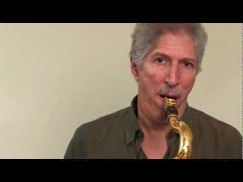 Bob Mintzer's Lesson - Sound of the Saxophone