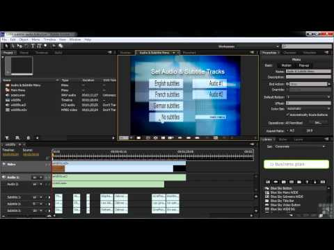 Adobe Encore CS6 Tutorial | Designing End Actions in Encore | InfiniteSkills