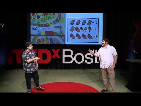 Tales from the Cardboard Fun Lab:  Kevin Spak and Sam Liberty at TEDxBoston