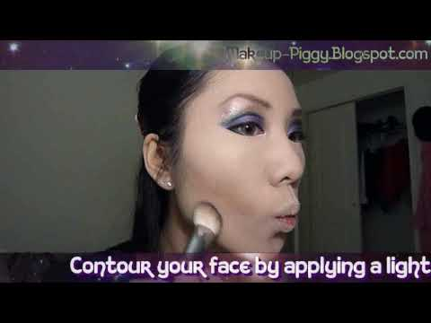 Purple Fantasy Makeup Tutorial