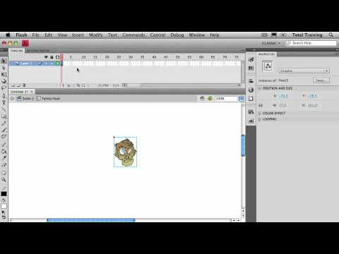 CS4 Design Workflow GETTING ANIMATED WITH FLASH Creating & Animating Flash Symbols