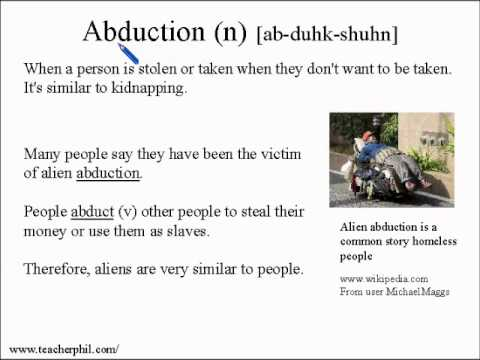 Learn Vocabulary and Pronunciation English Lesson 8: Were humans designed by aliens?