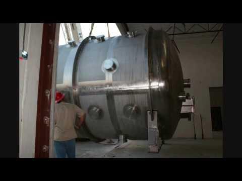 Huge vacuum chamber